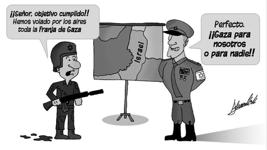 Gaza destruida