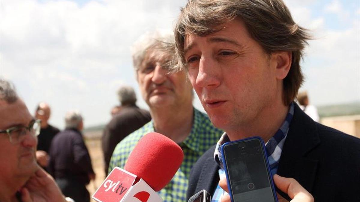 El alcalde de Soria, Carlos Martínez. (Archivo)
