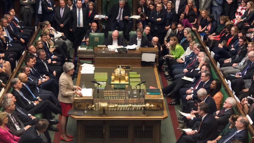 El Parlamento británico ha debatido cuatro mociones que presentan alternativas al acuerdo de Theresa May.
