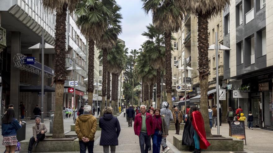 Calle Gutiérrez Mellado (Pontevedra)