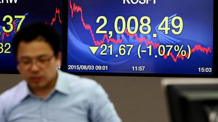 El Kospi sube un 0,82 por ciento en la apertura hasta los 2.007,65 puntos