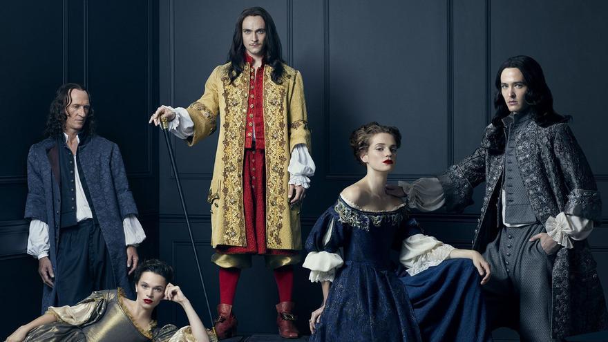 Los protagonistas de 'Versailles'