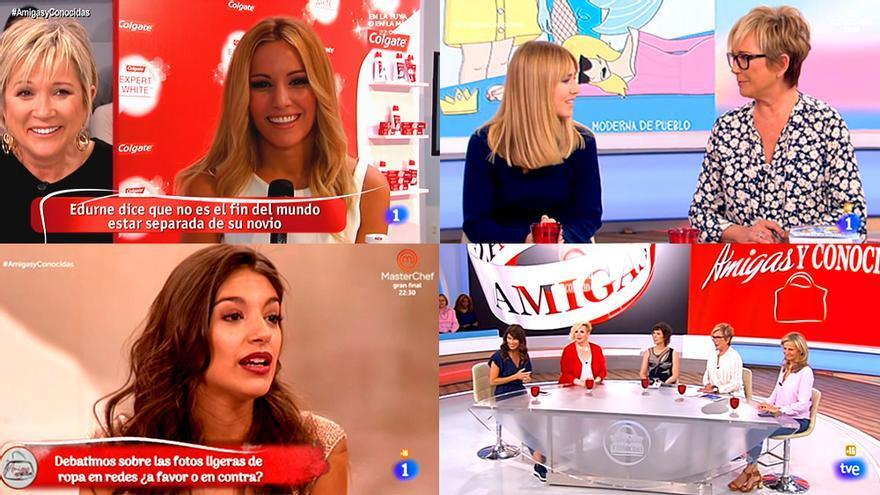 """Cuando fueron """"enemigas y conocidas"""" para TVE"""
