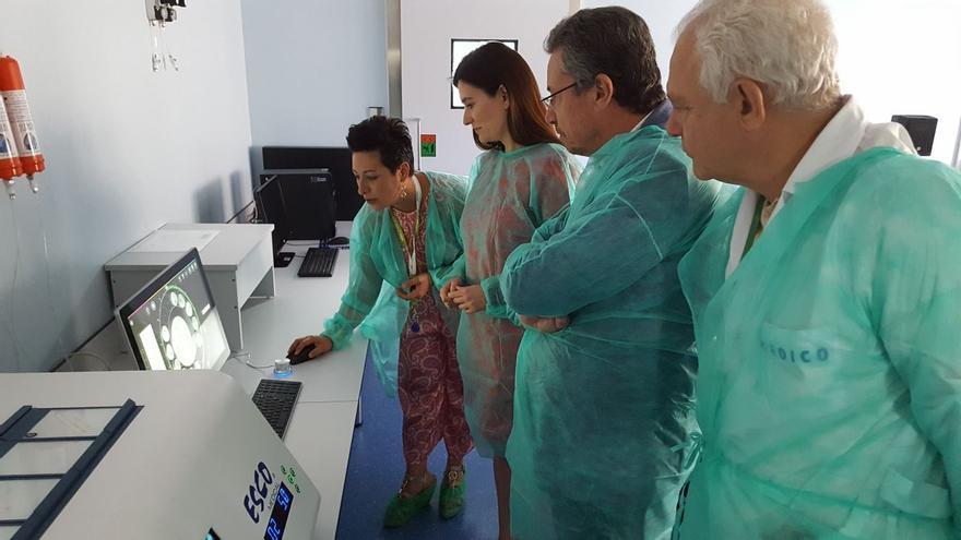 Laboratorio de reproducción asistida del Hospital General
