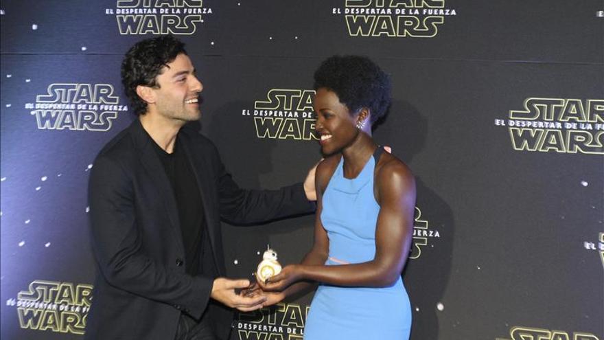 Lupita Nyong'o regresa a México para promocionar el nuevo film de Star Wars