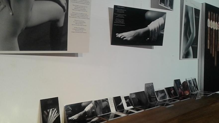 Parte de las obras fotográficas que integran la exposición.