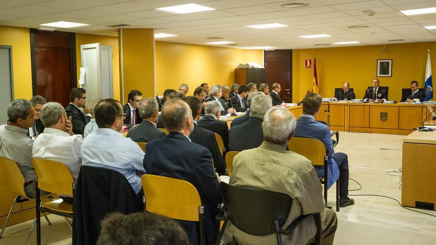 Segunda sesión del juicio por el caso Las Teresitas (Aarón S. Ramos)