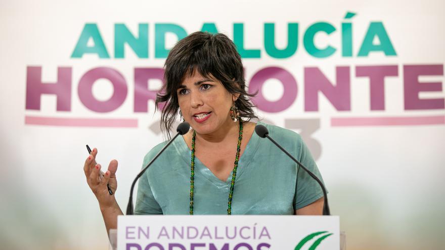Teresa Rodríguez pide a Iglesias, Errejón y Garzón ir bajo la misma papeleta para evitar fragmentación en Andalucía