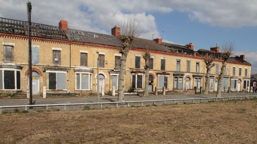 Imagen de viviendas cerradas en Granby Street (Liverpool) / Assemble