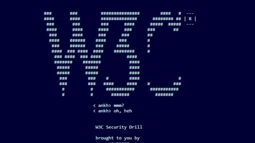 La red interna del Consorcio World Wide Web tenía un fallo de seguridad