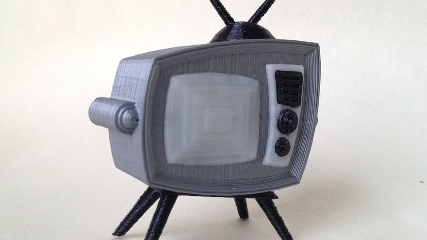 Retro TV por Thingiverse