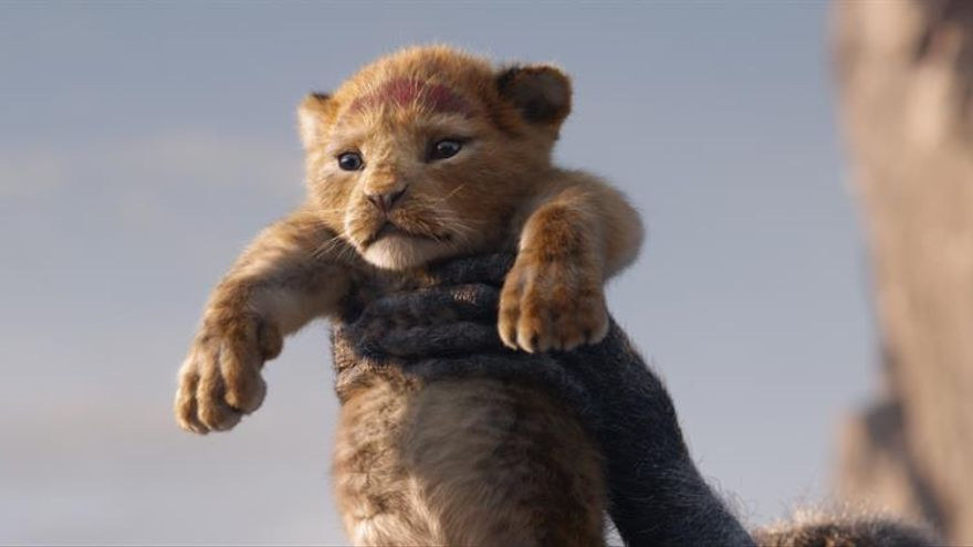"""""""El rey león"""" logra el segundo mejor estreno del año en Estados Unidos"""