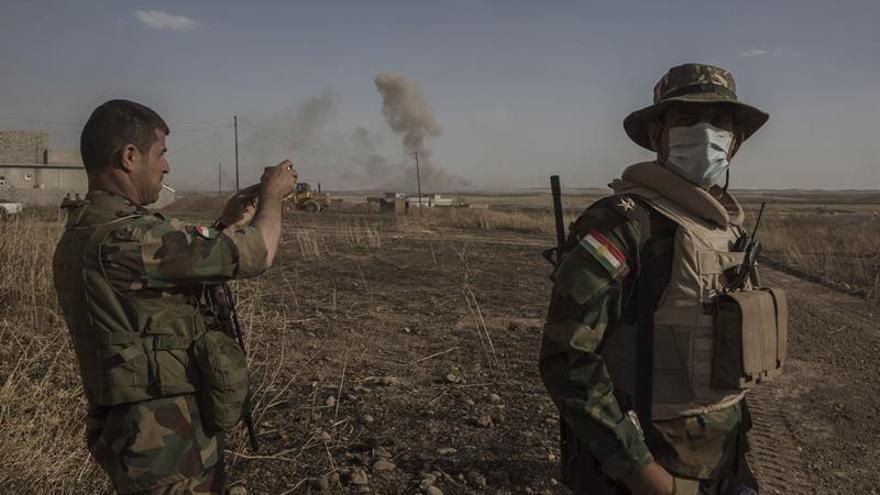 El EI retiene a cientos de habitantes de Mosul por supuesta conspiración