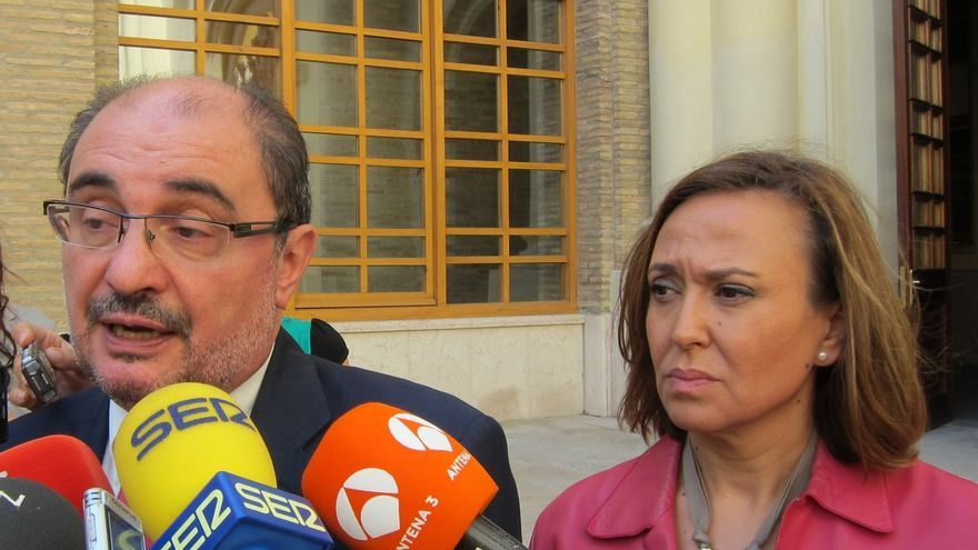 Lambán asegura que Cataluña no cumple con el mandato judicial sobre los bienes del Real Monasterio Santa María de Sijena