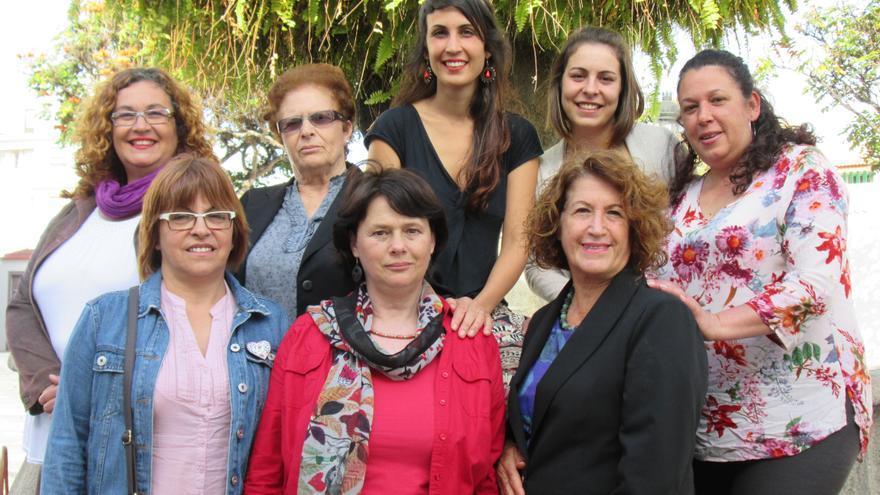 En la imagen, parte de las integrantes de la Asociación de Mujeres Jeribillas de Barlovento.