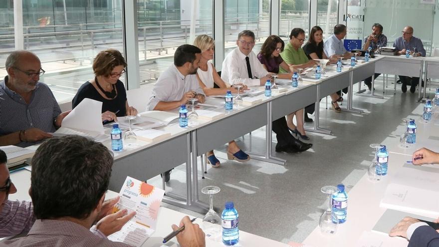 Reunión de Consell en el seminario de Torrevieja.