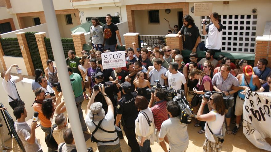 Stop desahucios en Málaga