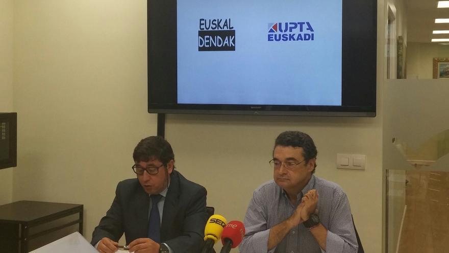 """UPTA y Euskaldendak presentan en Bilbao la plataforma """"No al cerrojazo. Afectados de la LAU""""."""