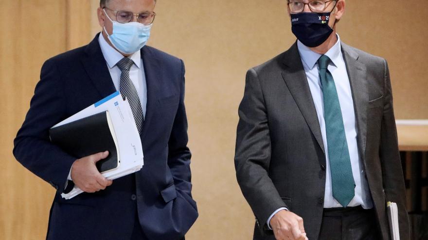 """Feijóo critica la """"enorme inseguridad jurídica"""" por el decreto de los interinos"""