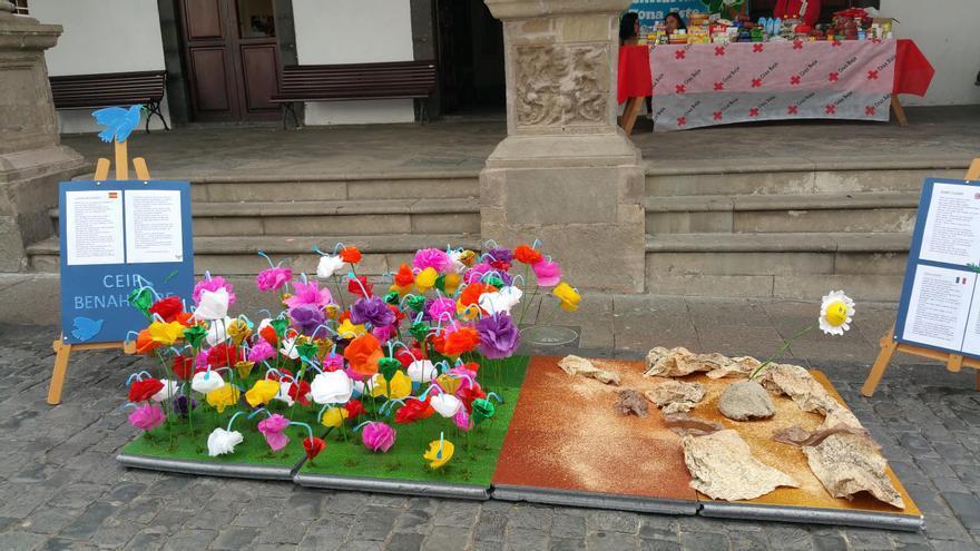 Los escolares de las Unitarias derrocharon creatividad. Foto: LUZ RODRÍGUEZ.