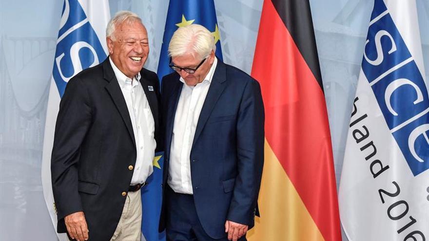 """Margallo reitera la oferta de cosoberanía para Gibraltar, """"un grano"""" en la UE"""