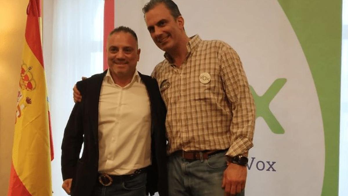 José Ignacio Vega Peinado y Javier Ortega-Smith