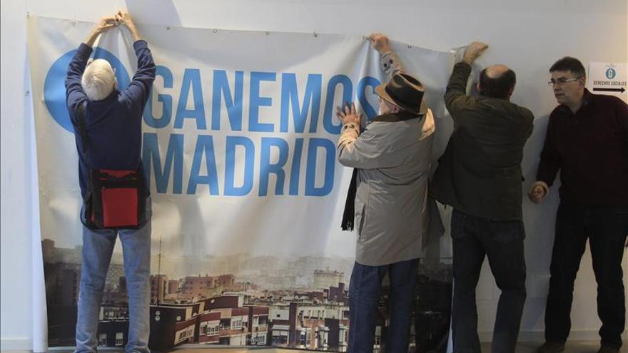 Imagen de una de las primeras asambleas que realizó Ganemos Madrid