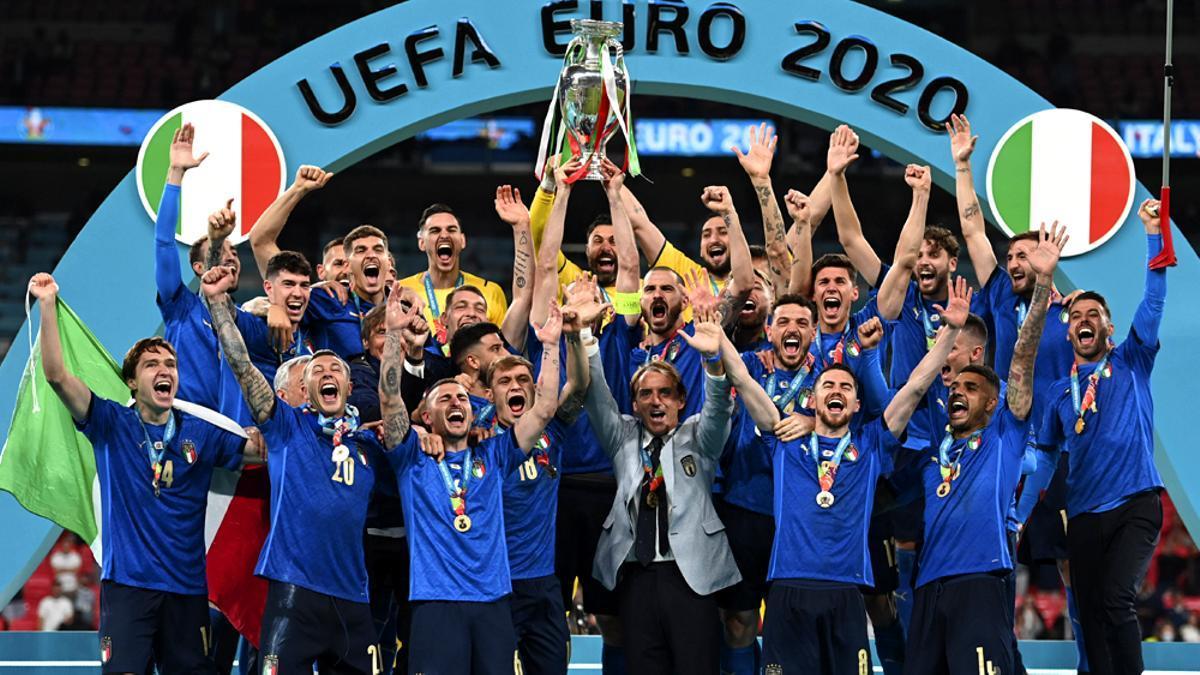 Italia, campeona de la Eurocopa 2020