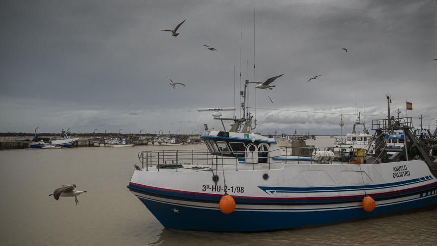 Salida de un barco pesquero