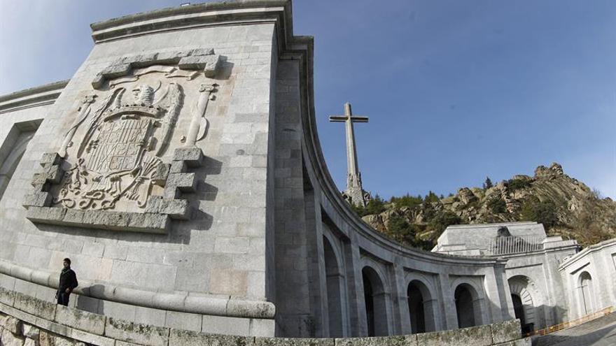 El Valle de los Caídos en una imagen de archivo.