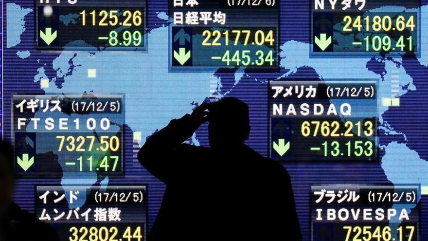 El superávit comercial japonés retrocedió un 22 % interanual en noviembre