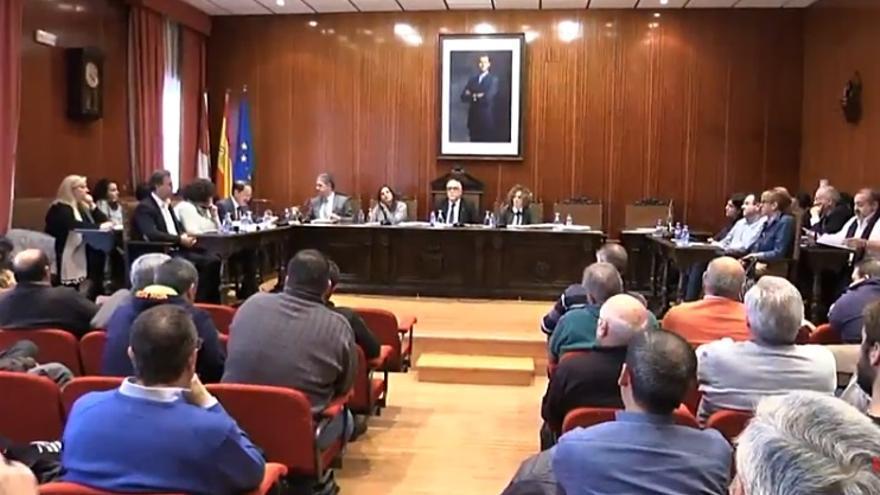 Pleno en Manzanares (Ciudad Real)