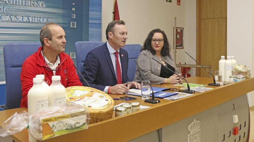 """Cantabria pide 4 céntimos más por litro de leche para """"salvar"""" al sector: """"Es la diferencia entre ser y no ser"""""""