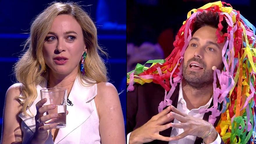 Marta Hazas en 'El Millonario' / Dani Martínez en 'Got Talent'