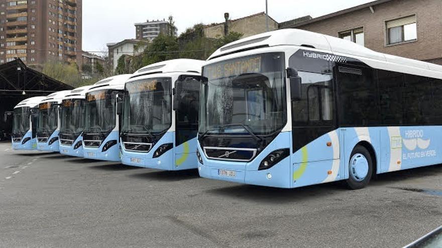 Seis nuevos vehículos híbridos se suman a la flota del TUS