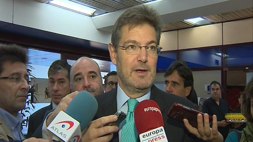 Catalá critica que el Parlament no respete los tiempos y destaca el consenso entre partidos para frenar el secesionismo