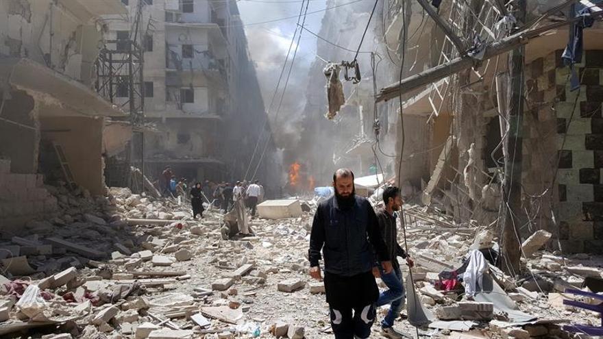 El ejército sirio dice que ha destruido una base del antiguo Frente al Nusra en Alepo