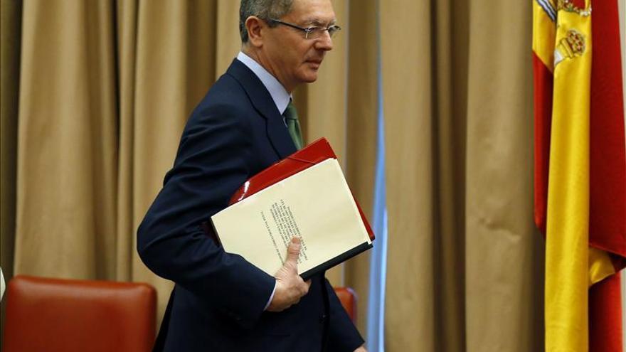 Gallardón asegura la permanencia de todos los juzgados incluida la Audiencia Nacional