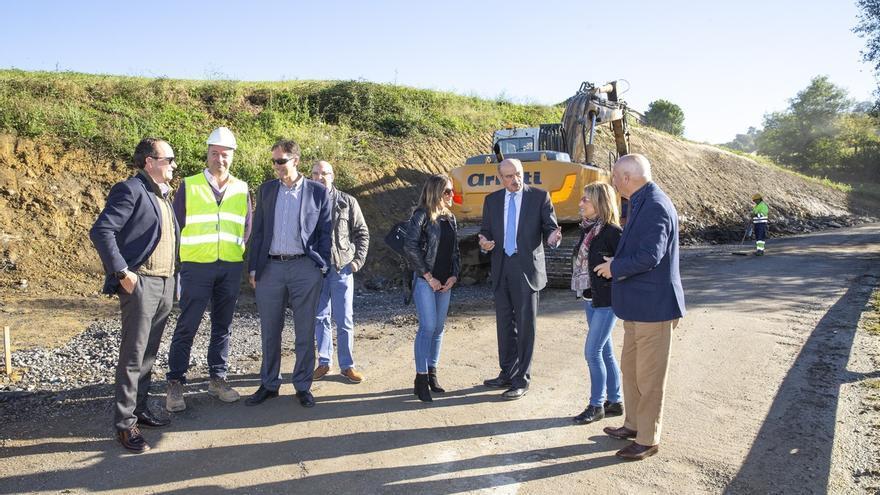La mejora del acceso a Riolastras podría acabar en primavera, anuncia Mazón