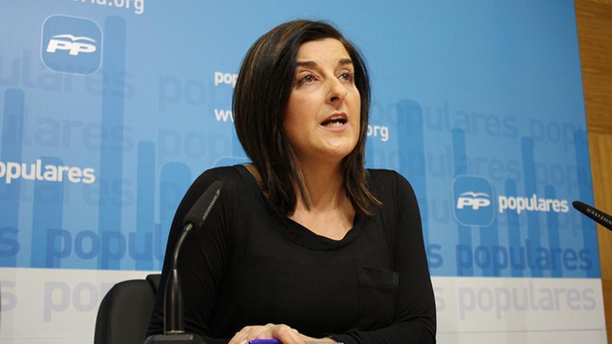 María José Sáenz de Buruaga, diputada del PP y exconsejera de Sanidad del Gobierno de Cantabria.