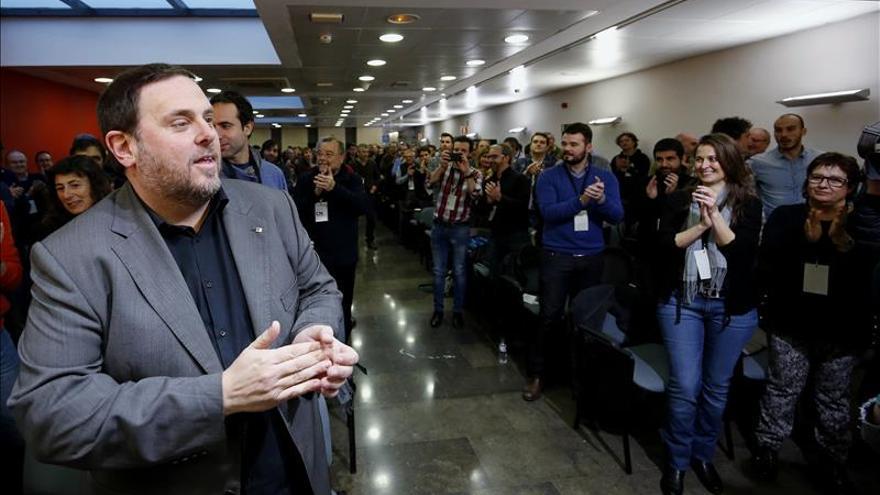 Junqueras confirma diálogo con PSOE y Podemos, pero no ha recibido ofertas