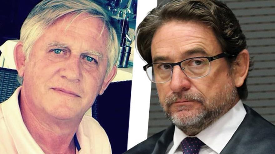 Los jueces  Rafael Lis Estévez (i) y Salvador Alba (d).