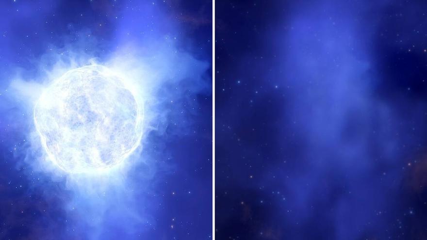 Un misterio cósmico: desaparece una estrella sin dejar rastro