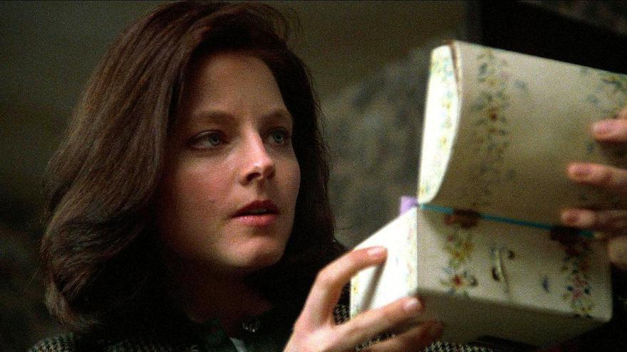 Jodie Foster protagonizó la película de 'El silencio de los corderos'
