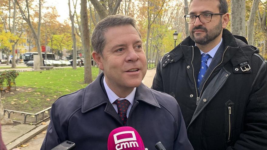 García-Page asistió al acto institucional por el 41 aniversario de la Constitución española
