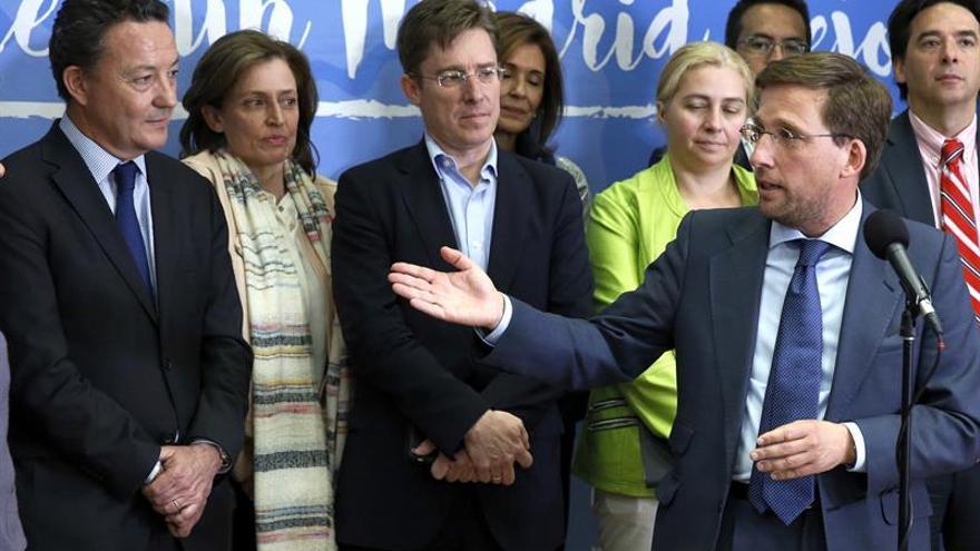 Martínez-Almeida sustituye a Aguirre como portavoz del PP en el Ayuntamiento de Madrid