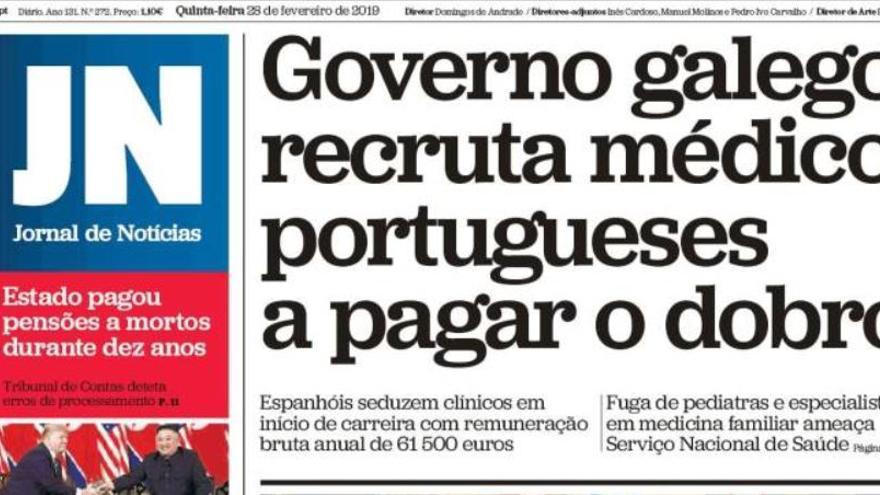 La urgencia por encontrar médicos lleva a la Xunta a lanzar una campaña para traerlos de Portugal