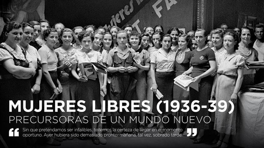 Imagen de la exposición 'Mujeres Libres (1936-1939), precursoras de un mundo nuevo'