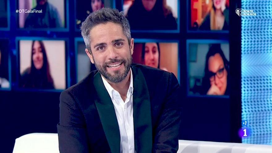 Roberto Leal, en su última gala de 'Operación Triunfo'