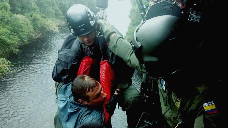 Rescatan a dos ciudadanos polacos perdidos en la Amazonía colombiana